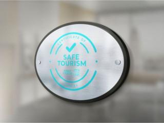Safe Turizm Güvenli Turizm Tabelası