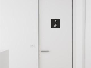 Erkek WC Levhası