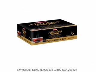 CAYKUR ALTINBAS KLASIK 100 LU BARDAK 200 GR 10 ADET