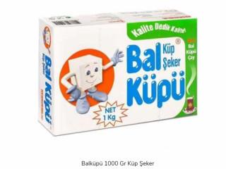 Balküpü 1000 Gr Küp Şeker x 10 Paket