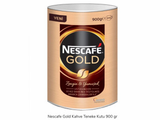 Nescafe Gold Kahve Teneke Kutu 900 gr