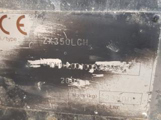 2005 HITACHI ZX350 PALETLİ EKSKAVATÖR
