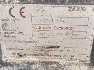 2010 HITACHI ZX350 PALETLİ EKSKAVATÖR