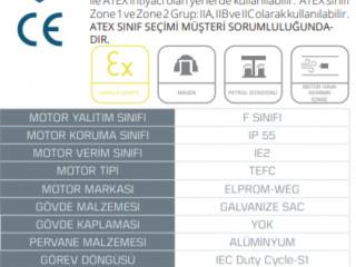 PAXİ - Exproof Motorlu Aksiyel Fan - PAXİ (1000-8-40)