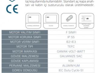 HAXİ - Hücreli Aksiyel Fan - HAXİ (1120-8-40)