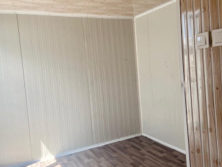 3x7 21m Ful 2 odalı wc duş lavabo mutfak orjinal sandiwich panel soba yakılabilir