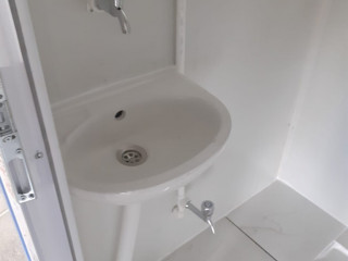 110×210 sandviç panel 2 li WC+WC kabinler