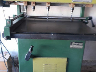 Manuel Çoklu delik delme makinası