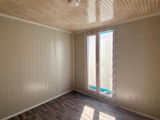 3x7 21m 2 Oda ful orjinal sandiwich panelden  wc duş lavabo mutfak soba yakılabilir