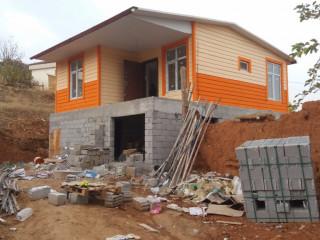 Prefabrik evler istediğiniz ölçüde yapılır...