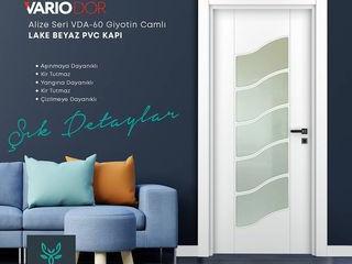 Variodoor PVC ve Melamin yüzeyli Kapılar
