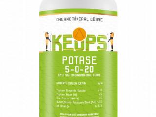 Keops POTASE 5-0-20 NK'lı Sıvı Organomineralli Potasyumlu Gübre 20 Litre