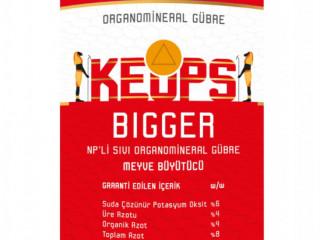 Keops BIGGER İzelement İçerikli Sıvı Organomineral Gübre (Meyve Büyütücü) 20 Lt.