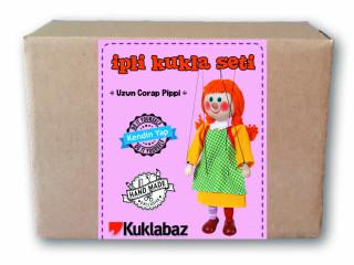 Kukla Seti - Uzun Çorap Pippi