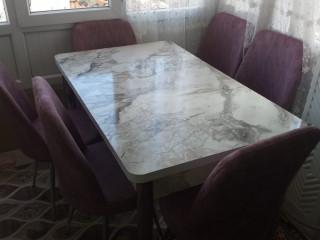 Mutfak masası takımi 6 kişilik