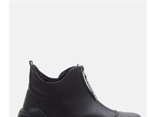 PENA Black Bayan Sneaker Bootie