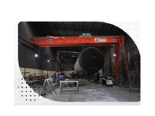 Konya Yarı Portal Vinç - Konya Semi Gantry Crane -