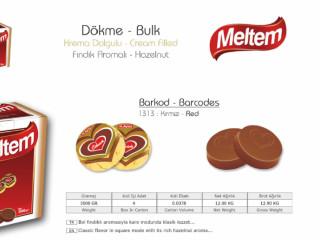 Meltem Krema Dolgulu Dökme Çikolata Çeşitleri - Meltem Cream Filled Bulk Chocolate Types