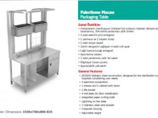 Paketleme Masası - Packaging Table