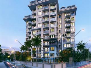 Alanya Güllerpınarı'nda Satılık Lüks 2+1 Daire & Luxurious 2+1 Apartment for Sale in Güllerpınarı Alanya