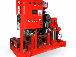 FP Serisi Dizel Yangın Pompası (NFPA 20)