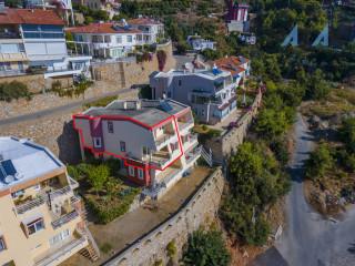 Alanya Bektaş'ta Satılık Dubleks Villa & Duplex Apartment for Sale in Bektaş Alanya