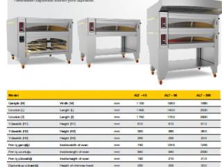 Elektrikli Katlı Fırın - Electrical Deck Oven