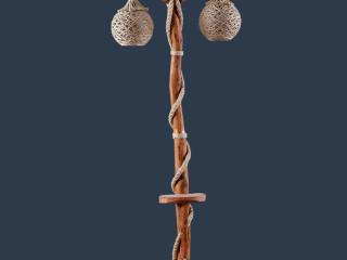 Horon İkili Lambader - Horon Double Floor Lamp