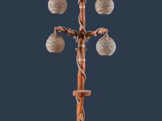Örümcek Dörtlü Lambader - Spider Quad Floor Lamp