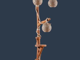 Kartal Üçlü Lambader - Kartal Triple Floor Lamp