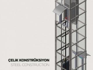 LCM Asansör Çelik Konstrüksiyon