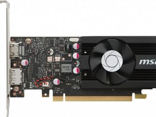 MSI VGA GEFORCE GT 1030 2G LP OC GT1030 2GB GDDR5 64B DX12 PCIE 3.0 X16 (1XHDMI 1XDP) EKRAN KARTI