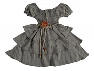 Lumia Baby Kız Çocuk Bebek Kat Kat Elbise