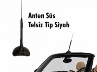 TP ANTEN SÜS TELSiZ SiYAH