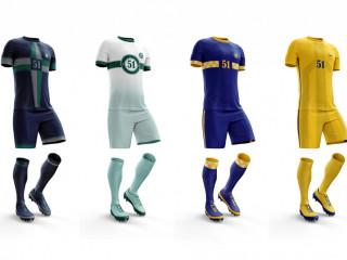 Futbol Forması 302 (Forma+Şort+Çorap Seti)