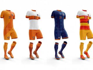 Futbol Forması 335 (Forma+Şort+Çorap Seti)