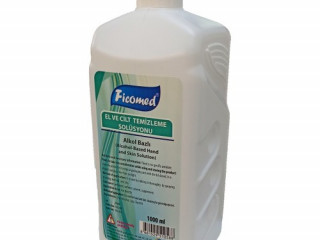 Ficomed Antiseptik El Ve Cilt Dezenfektanı 1000 ml 5 Adet Bİ30122020M5