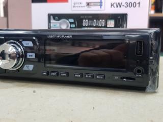 SIFIR KİNGWİN USB AUX CART BLUETOOTH 4X50 SES ÇİFT ANFİ ÇIKIŞLI