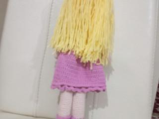 Amigurumi örgü bebek prenses model