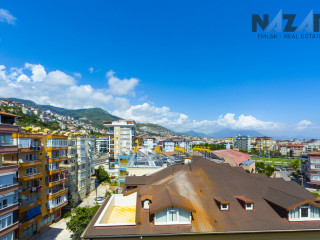Alanya Saray Mahallesi'nde Satılık Dubleks Daire & Duplex Apartment For Sale in Alanya Saray District