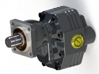 Pro 35 serisi Dişli Pompa ISO 90 lt.