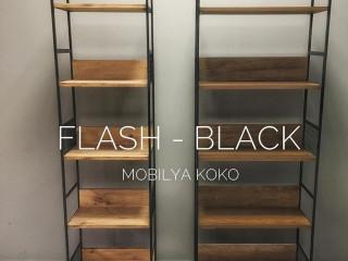 Koko Flash-Black Vitrin