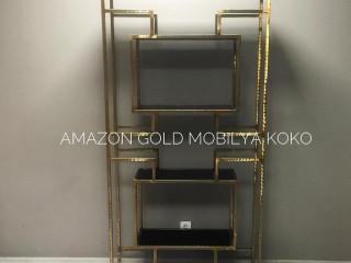 Koko Amazon Gold Vitrin