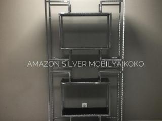 Koko Amazon Silver Vitrin