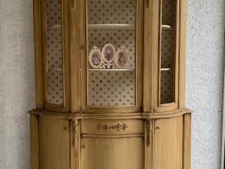 El boyaması eskitmesi vintage vitrin