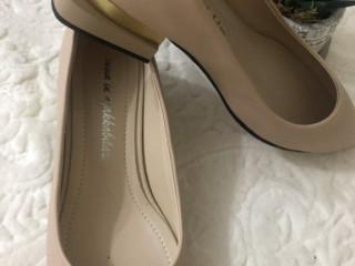 Nude rengi ayakkabı