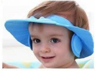 Kulaklıklı Bebek Banyo Şapkası Baby Mate