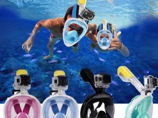 Full Face Şnorkel Maske Dalış Şnorkel