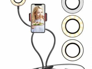 Akrobat Youtuber Telefon Tutucu Masa Lambası