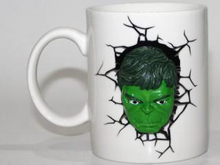 Yeşil Adam Tasarımlı Seramik Kupa Bardak